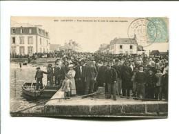 CP   LOCTUDY   (29)VUE GENERALE DE LA CALE LE JOUR DES REGATES - Loctudy