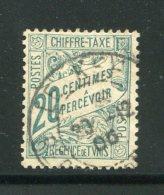 TUNISIE- Taxe Y&T N°30- Oblitéré - Tunesien (1888-1955)