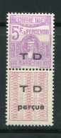 TUNISIE- Taxe Y&T N°55- Neuf Avec Charnière * - Timbres-taxe