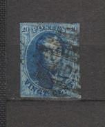 COB 11 Oblitéré MIDI Nipa +300 - 1858-1862 Medaglioni (9/12)