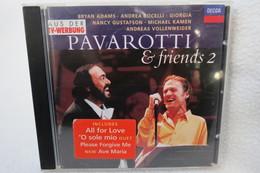 "CD ""Pavarotti & Friends 2"" Live From The Novi Sad, Modena 1994 - Oper & Operette"
