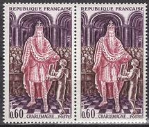 FRANCE 1966 - PAIRE Y.T. N° 1497  - NEUFS** - Neufs