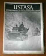WWII, Croatia, NDH - Magazine - USTASHA / USTASA  -  No.16 / 17 - 1945. Last Number - Extremely Rare - Other