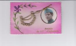 Amitiés Du 117éme D'infanterie. ( Fourragère En Relief Cordage Et Laiton ) - Le Mans