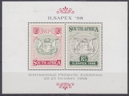 South Africa 1998 Ilsapex '98 M/s ** Mnh (32602) - Blokken & Velletjes