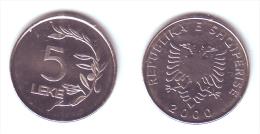 Albania 5 Leke 2000 - Albania