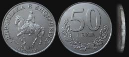 Albania Coin 50 Leke, 2000. KM# 79. Illyrian King Gentius Horse. BU, UNC Or FDC - Albania