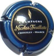 Feuillatte Nicolas N°44, Contour Bleu, Centre Noir (E De France Sous Le T) - Champagne