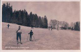 Chaumont Neuchâtel, Sport D'hiver Le Ski (9379) - NE Neuchatel