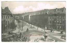 RB 1118 - 1904 Postcard - Great Pulteney Street - Bath Somerset - Bath