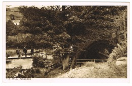 RB 1118 - Early Postcard - The Mill - Penegoes Montgomeryshire Wales - Montgomeryshire
