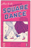 RB 1118 - How To Do The American Square Dance - 20 Page Australia Booklet - Leisure Music Theme - Books, Magazines, Comics