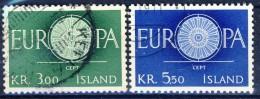 ##Iceland 1960. Michel 343-44. Cancelled - 1944-... Republik