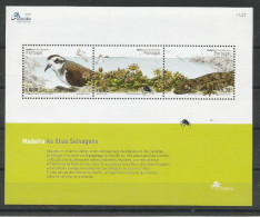 2004, Madeira, 230/32 Block 29, Fauna Und Flora Der Savage-Inseln. MNH **, - Madeira