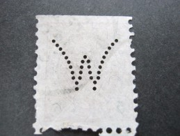 FIRMENLOCHUNG , Perfin - 1850-1918 Imperium