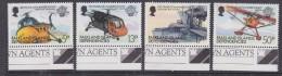 Falkland Islands Dependencies 1983 Bicentenary Of Manned Flight 4v +margin)  ** Mnh (32608B) - Zuid-Georgia