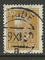Estland Estonia 1939 O Cancel PAIDE - Estland