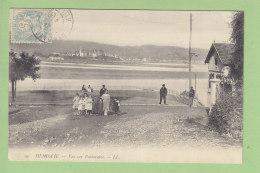 HENDAYE : Vue Sur Fontarabie (Douanier ?). Fontarrabie. 2 Scans. Edition LL - Hendaye