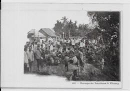CPA LAOS Asie Indochine Non Circulé Laotiens à KHONG - Laos