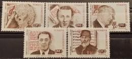 Turkey, 1993, Mi: 2994/98 (MNH) - 1921-... Republic