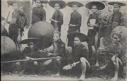 CPA LAOS Asie Indochine Non Circulé Khas Khadès TONKIN - Laos