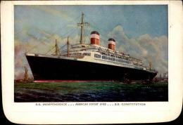 BATEAU  - Carte Du SS Indépendence - A Voir - L  3869 - Paquebote