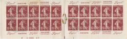 Carnet Booklet Semeuse Sower 189 C 2 Rolland 17 Juin 1929 Tirage 12 000 Exemplaires - Booklets