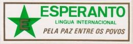 (ST) Sticker - Glumarko - From Brazil - El Brazilo - Esperanto
