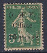 Cilicie N° 81 X  10 Pa Sur 5 C. Vert, Trace De  Charnière Sinon TB