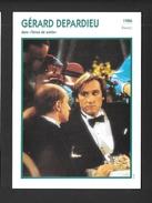 ACTEURS - ACTRICES - CINÉMA - GÉRARD DEPARDIEU - 1986 FRANCE DANS TENUE DE SOIRÉE - Acteurs