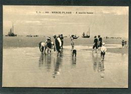 CPA - BERCK PLAGE - A Marée Basse, Bien Animé - Berck