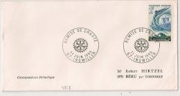 INGWILLER Bas Rhin. Remise De Charte Sur Enveloppe. 1966 - Postmark Collection (Covers)