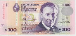 Uruguay 100 Pesos 2011 Pick 88 UNC - Uruguay