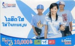Mobilecard Laos - Werbung - Kinder , Children (2)