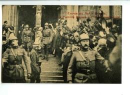 18374   -  7 Cartes   -   Entrée Du Roi à Bruxelles, Anvers, Gand, Liège, Ostende... - Manifestations