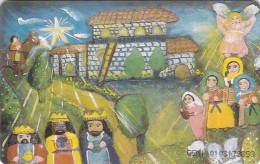 Venezuela, CAN2-0726,  [Puzzle] Nativity, Nacimiento Del Niño (1/2), Christmas, 2 Scans. - Venezuela
