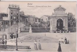 """ITALIE  LAZIO ROMA  """"   Trastevere Fontana Dell' Acqua Paola  """" - Otros"""