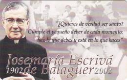 Venezuela, CAN2-0846, Josemaria Escrivá De Balaguer, 2 Scans.  With Red In Chip. - Venezuela