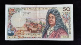 "Billet 50 Francs ""Racine""  -1976 C.297 - 50 F 1962-1976 ''Racine''"