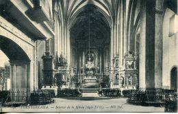 N°51335 -cpa Fuenterrabia -interior De La Iglesia- - Espagne