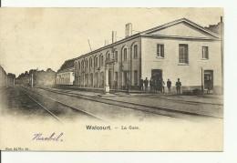WALCOURT.... LA  GARE. - Walcourt