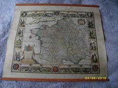2 Trés Belles Cartes :LEO BELGICUS Et GALLIA - Geographical Maps
