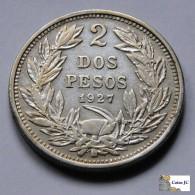 Chile - 2 Pesos - 1927 - Chile