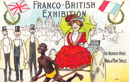 Franco British Exhibition (Angleterre) - Voila Mam Selle - London