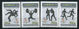 2000 - AZERBAIJAN -  Mi.  Nr. 470/473 -  NH - ( **) - (G-EA-371689.2) - Azerbaijan