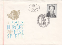 Österreich 1965 Nr.  1193 - 100 Todestag F G Waldmüller - FDC Ersttagsbrief - FDC