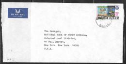1979 Bahamas Bank Cover, Nassau, 17 Nov 1979, Hill Centenary Stamp - Bahamas (1973-...)