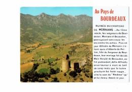Cpsm - 26. BOURDEAUX . Tour De Mornans . CELLARD D. 418 - Ruines - Frankreich