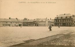 Dép 62 - Carvin - La Grand'Place Et Rue De Libercourt - état - Francia