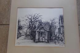 Kapelletje Door R. Bugman 6/35 Ex. - Lithographies